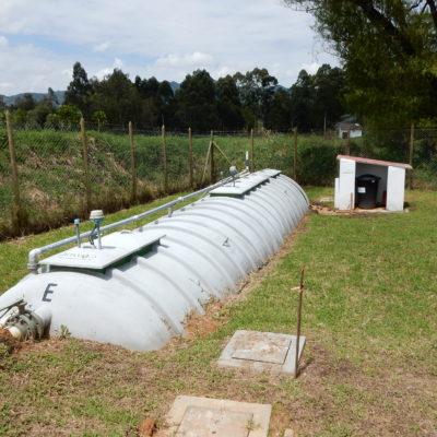 Impianto fanghi attivi di un complesso residenziale